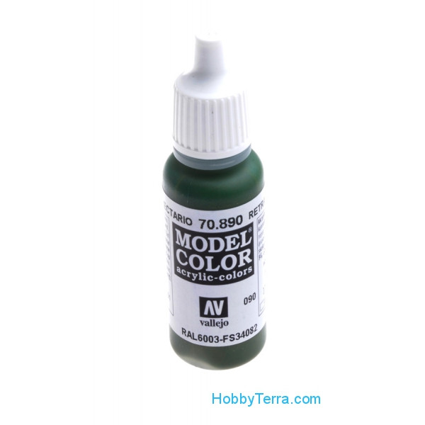 Model Color 17ml. 090-Reflective green