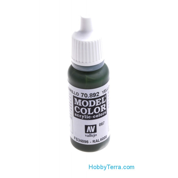 Model Color 17ml. 087-Yellow olive