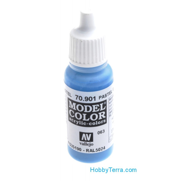 Model Color 17ml. 063-Pastel Blue