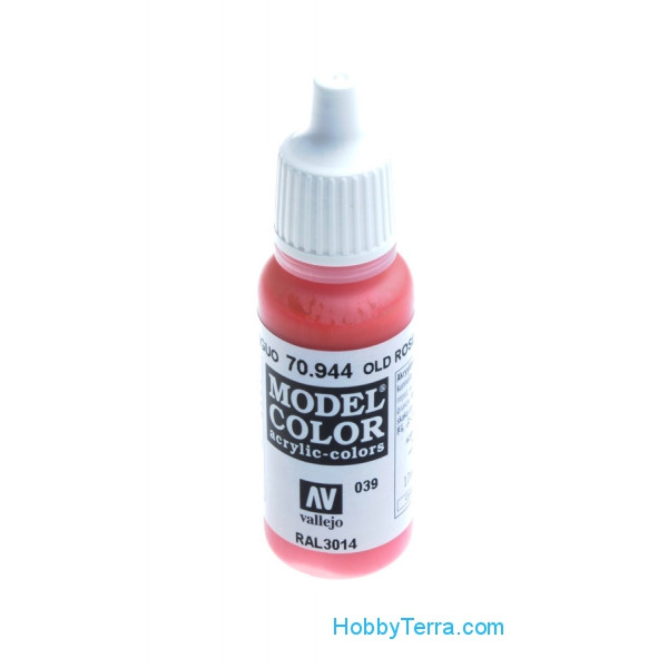 Model Color 17ml. 039-Old Rose