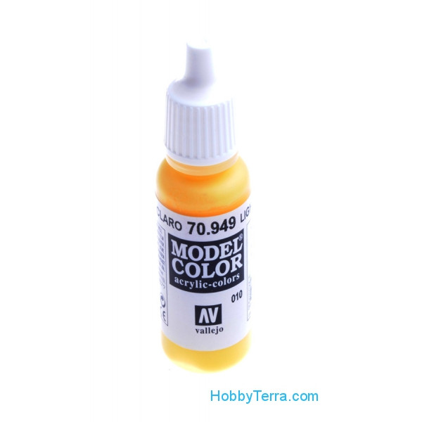 Vallejo  70949 Model Color 17ml. 010-Light yellow