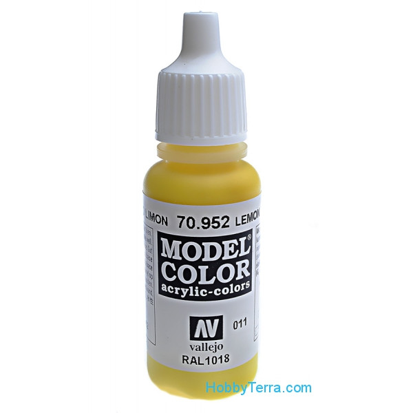 Model Color 17ml. 011-Lemon yellow