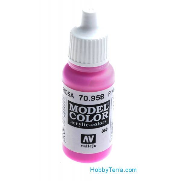 Model Color 17ml. Pink