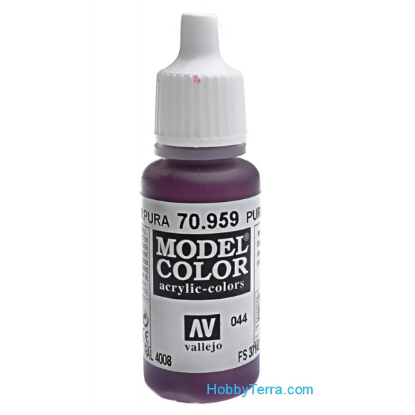 Model Color 17ml. 044-Purple