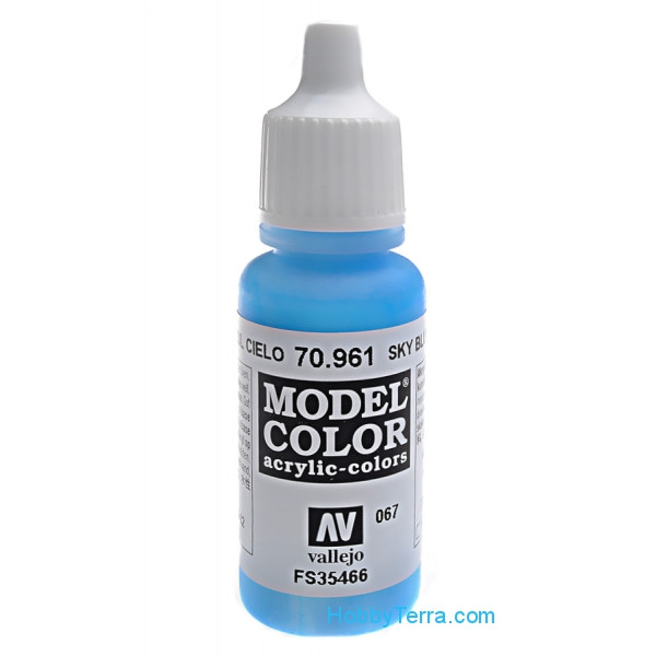 Model Color 17ml. 067-Sky blue