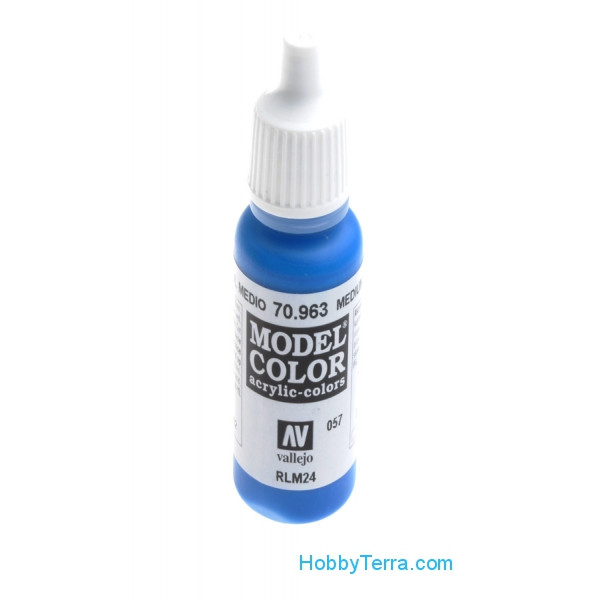 Vallejo  70963 Model Color 17ml. 057-Medium blue