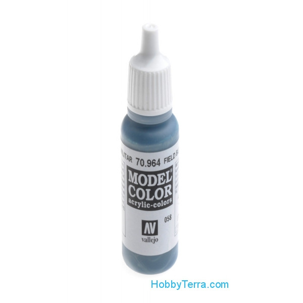 Model Color 17ml. 058-Field Blue