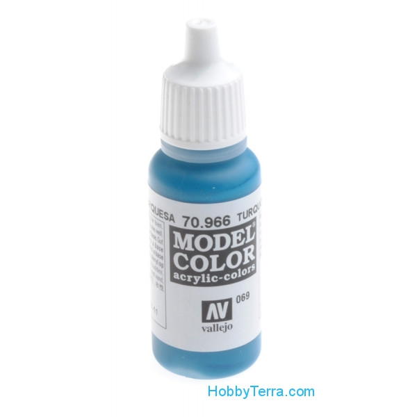 Vallejo  70966 Model Color 17ml. 069-Turquoise