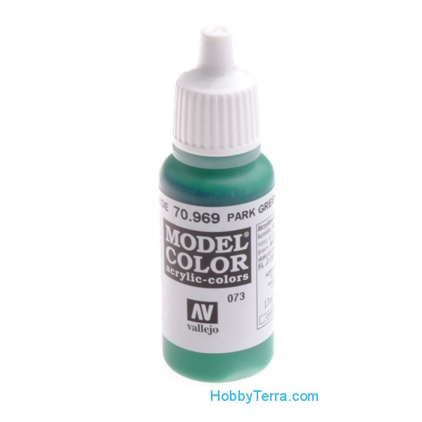 Model Color 17ml. Park green flat