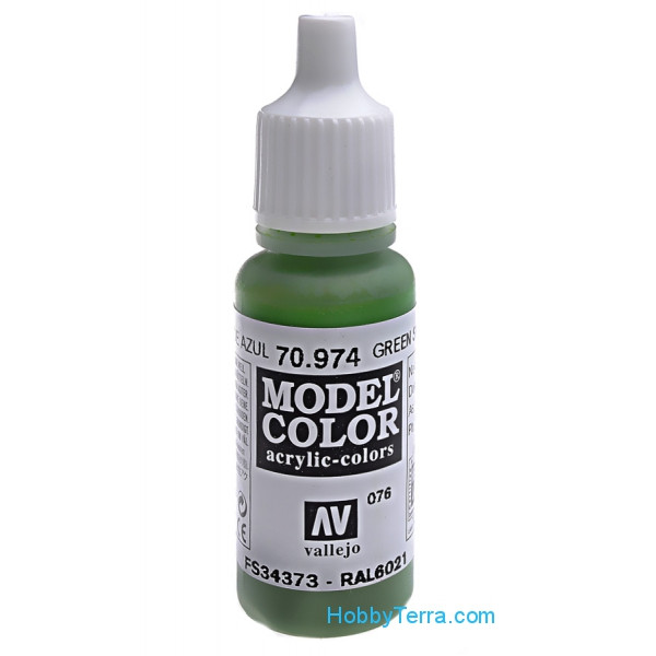 Model Color 17ml. 076-Green sky