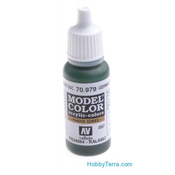 Model Color 17ml. German cam. dark green