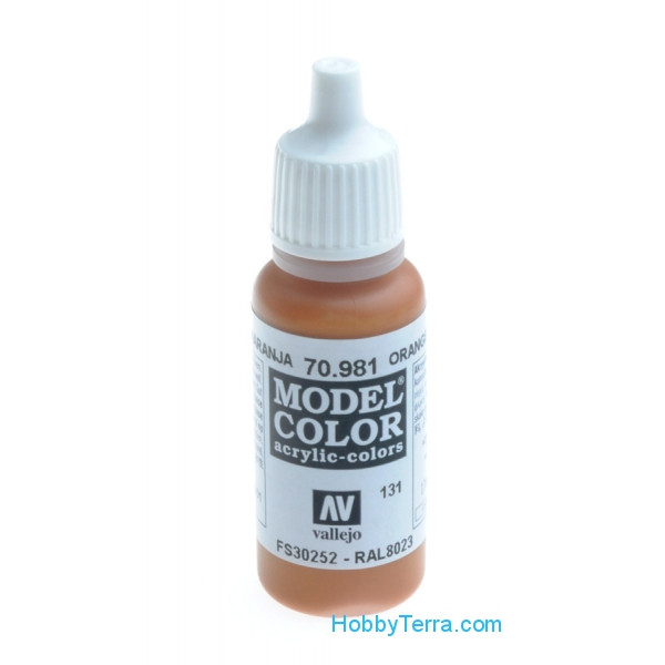Vallejo  70981 Model Color 17ml. Orange brown