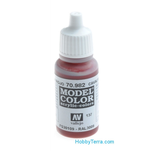 Model Color  17ml. Cavalry brown