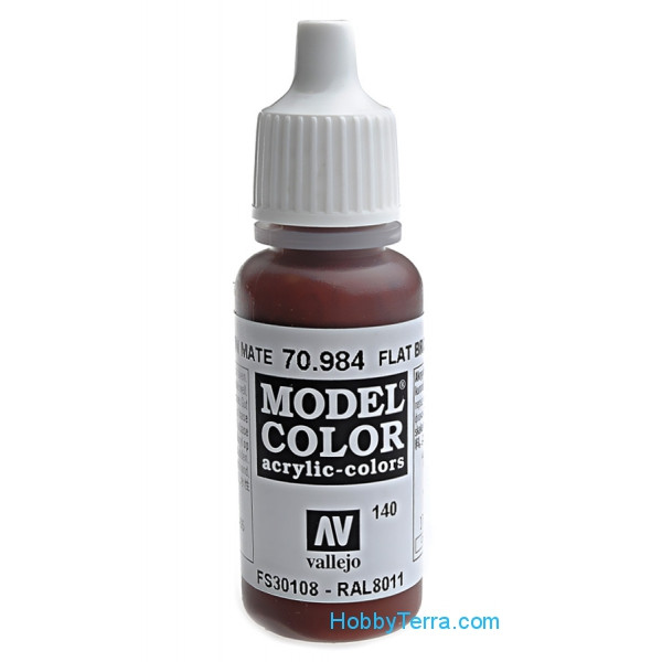 140: Model Color 984-17ML. Flat Brown
