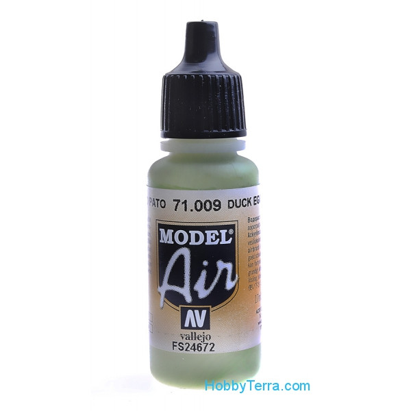 Model Air 17ml. 009-Duck egg green