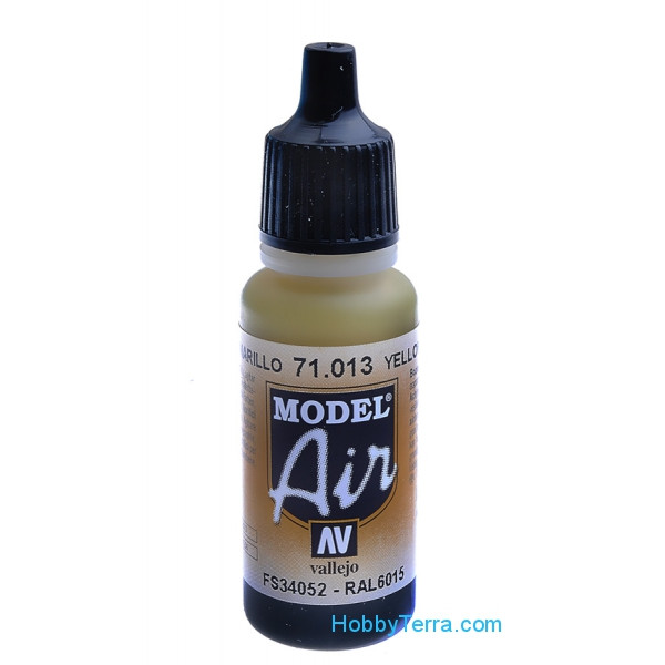 Model Air 17ml. 013-Yellow olive