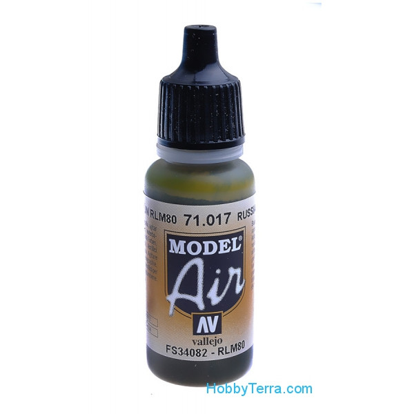 Vallejo  71017 Model Air 17ml. 017-Russian green