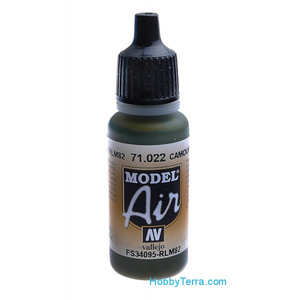Vallejo  71022 Model Air 17ml. 022-Camouflage green