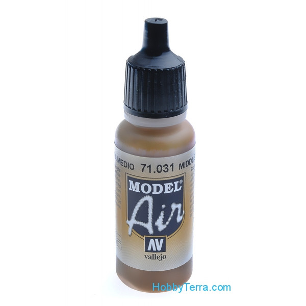 Vallejo  71031 Model Air 17ml. 031-Middle stone