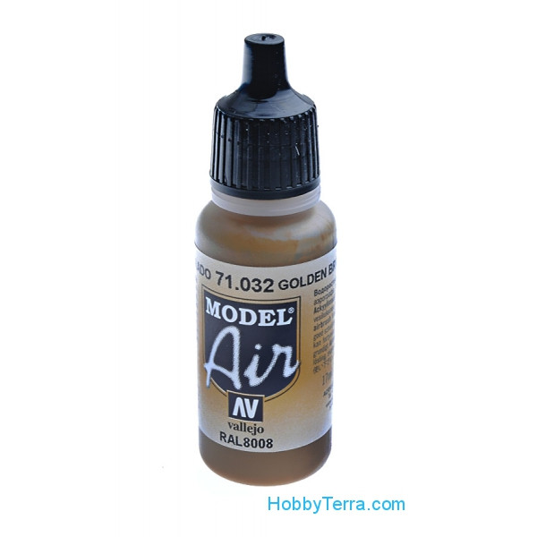Vallejo  71032 Model Air 17ml. 032-Golden brown