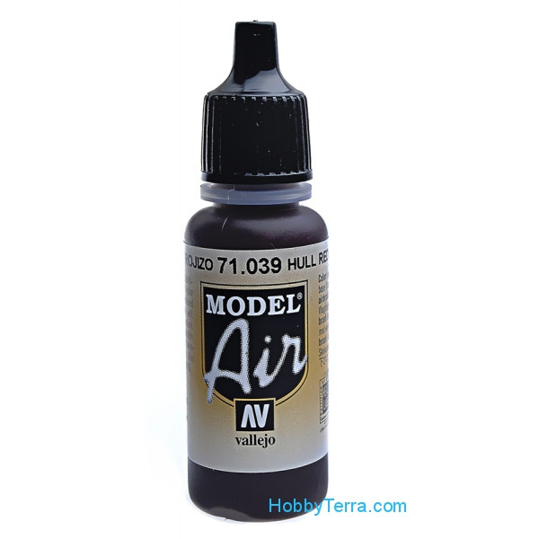 Model Air 17ml. 039-Hull red