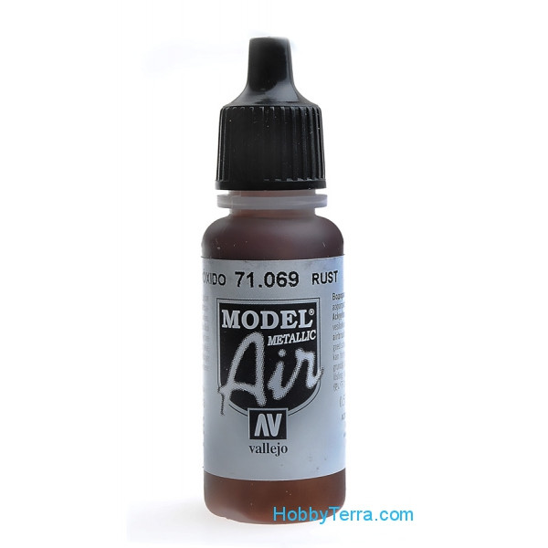 Model Air 17ml. 069-Rust