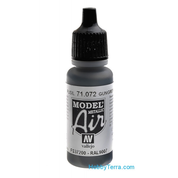 Model Air 17ml. 072-Gun metal