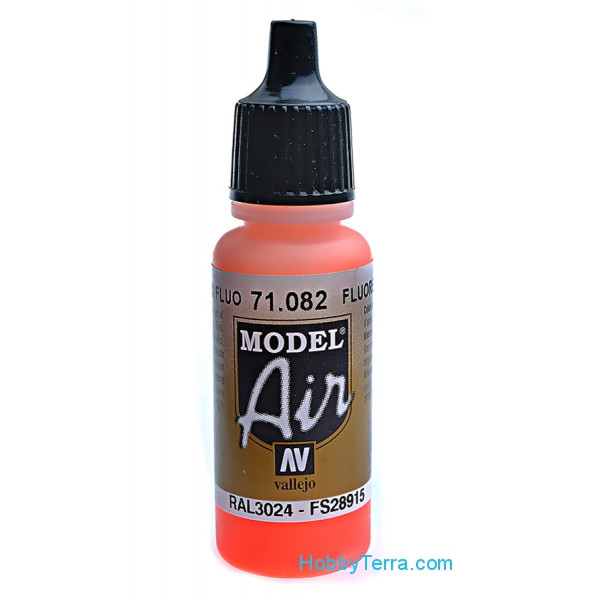 Model Air 17ml. 082-Fluorescent red