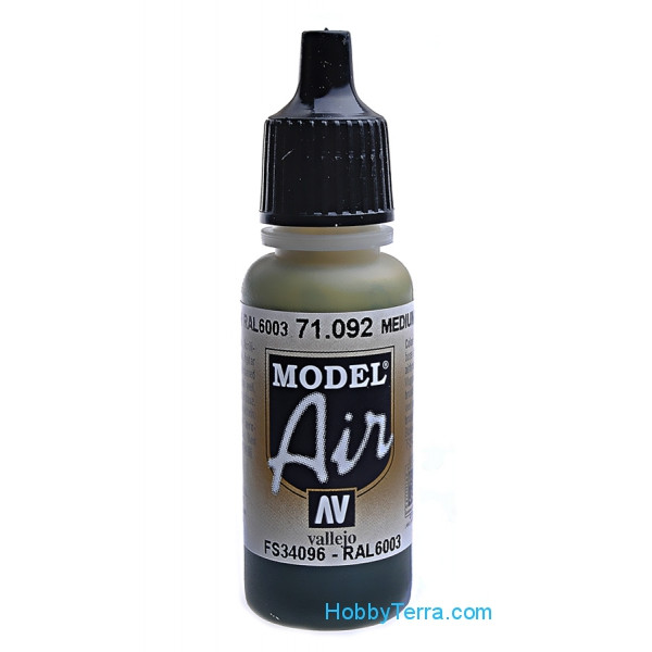 Vallejo  71092 Model Air 17ml. 092-Medium green