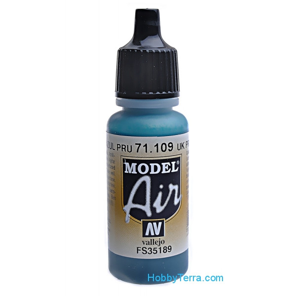 Model Air 17ml. 109-UK P.R.U. blue