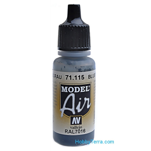 Model Air 17ml. 115-Blue grey RAL 7016