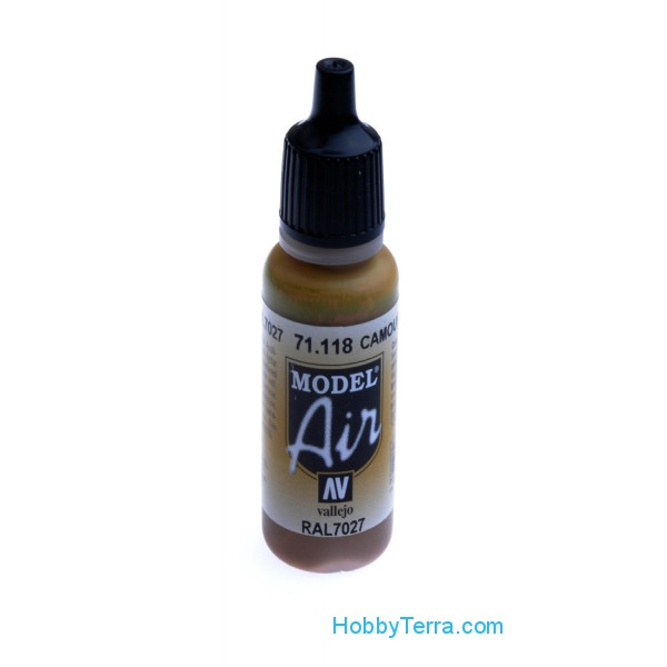 Model Air 17ml. 118-Camouflage grey RAL7027