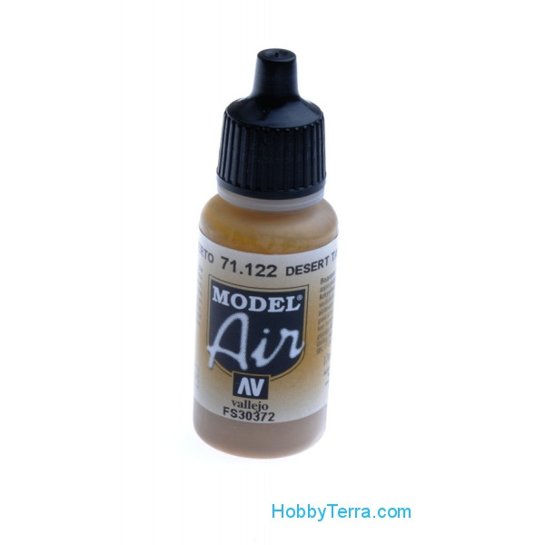 Vallejo  71122 Model Air 17ml. 122-Desert tan 686