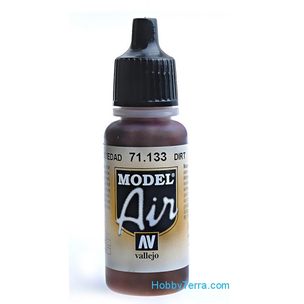 Vallejo  71133 Model Air 17ml. 133-Dirt
