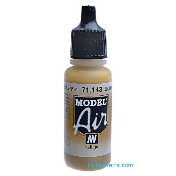 Model Air 17ml. 143-UK light stone number 61