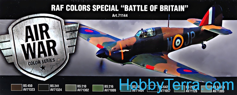 "Model Air Set. RAF Colors Special ""Battle of Britain"""