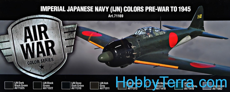 "Model Air Set ""Imperial Japanese Navy (IJA) Colors, 1945"", 8pcs"