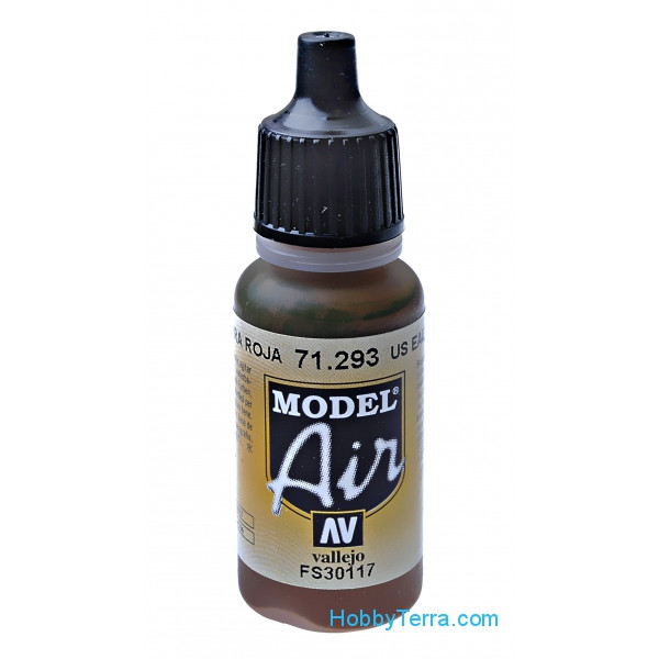 Model Air 17ml. US Earth red