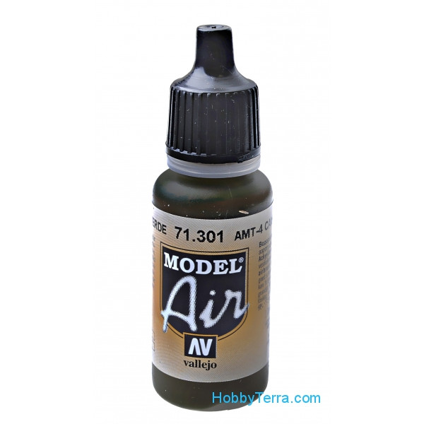 Model Air 17ml. AMT-4 Camouflage green