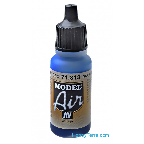 Model Air 17ml. Dark mediterranean blue