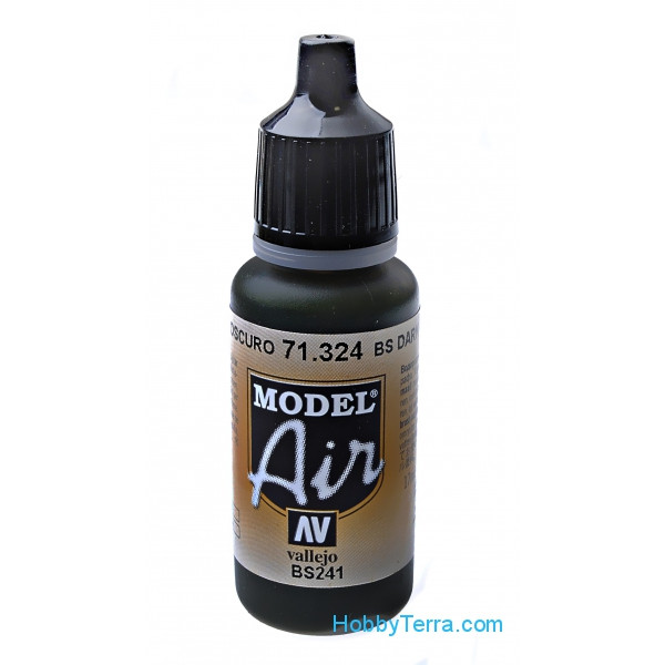Model Air 17ml. BS Dark green