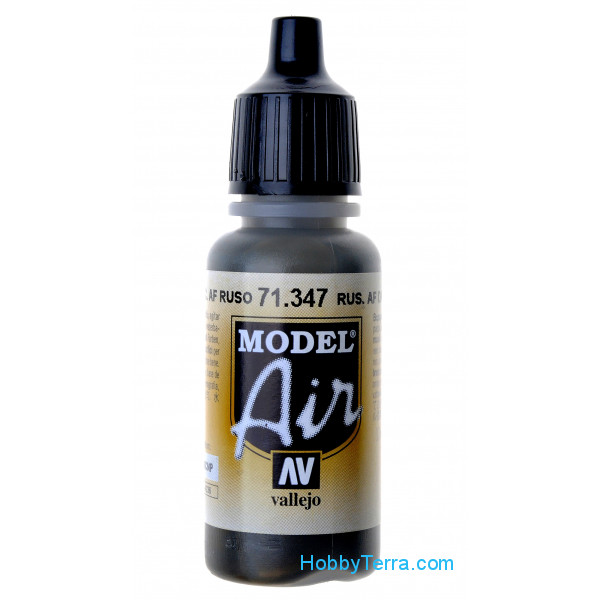 Vallejo  71347 Model Air 17ml. Russian AF Dark Green