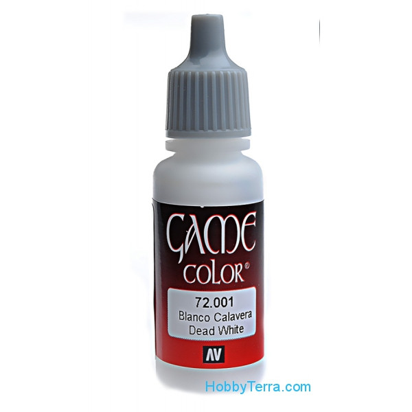 Game Color 17ml. 001-Dead white