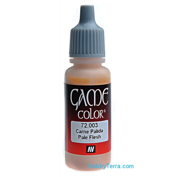 Game Color 17ml. 003-Pale flesh