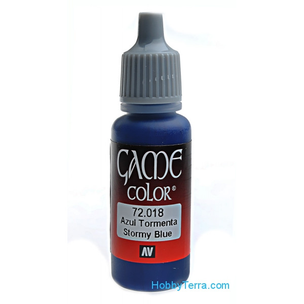 Game Color 17ml. 018-Stormy blue