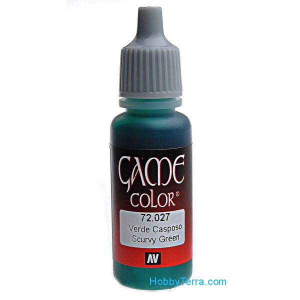 Game Color 17ml. 027-Scurf green