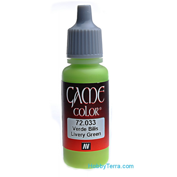 Game Color 17ml. 033-Livery green