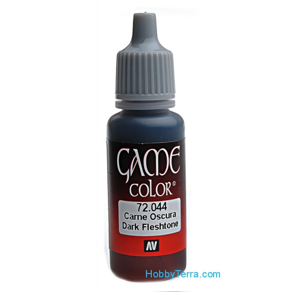 Game Color 17ml. 044-Dark flesh tone