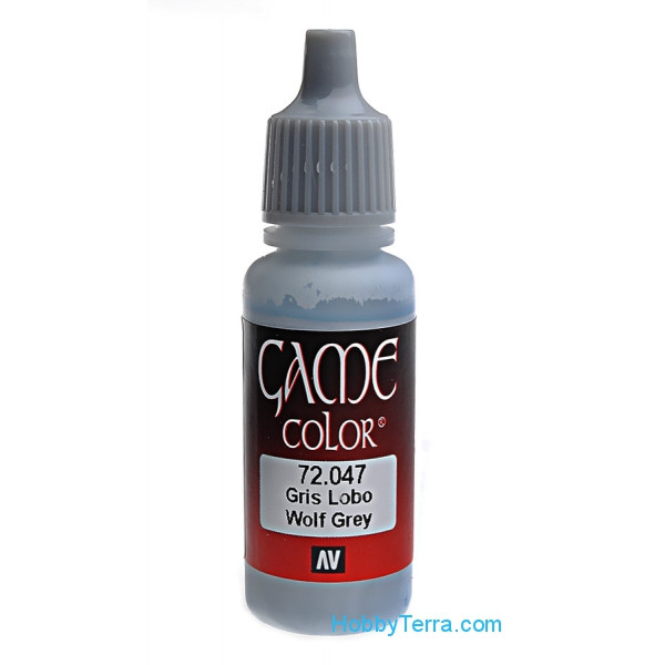 Game Color 17ml. 047-Wolf Grey