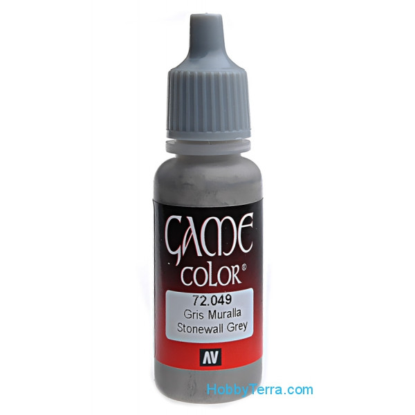 Game Color 17ml. 049-Stonewall grey